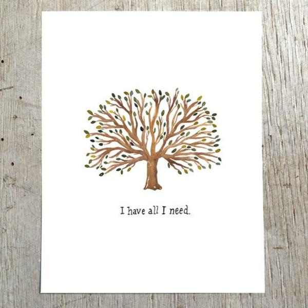 I Have All I Need Art Print