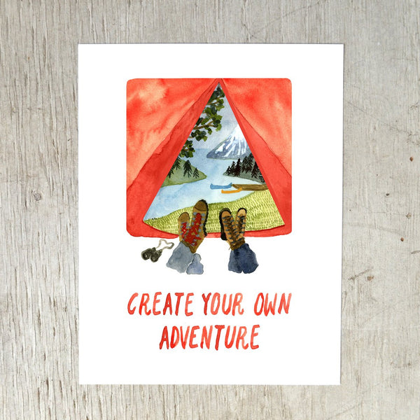 Create Your Own Adventure Print