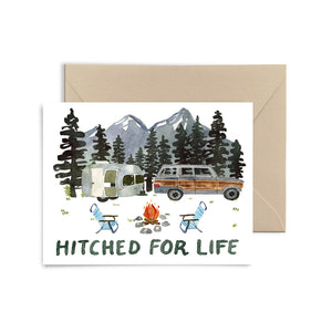 Hitched for Life Card