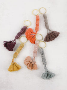 Velvet Tassel Key Chain - Assorted