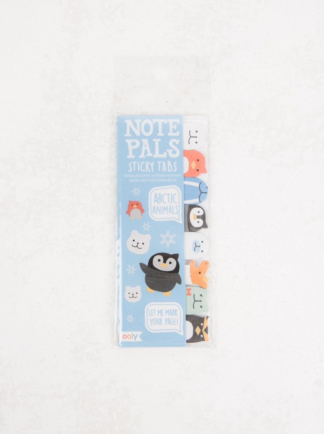 Note Pals Sticky Note Pad - Arctic Animals