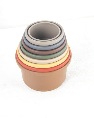 Stacking Cups Toy - Retro