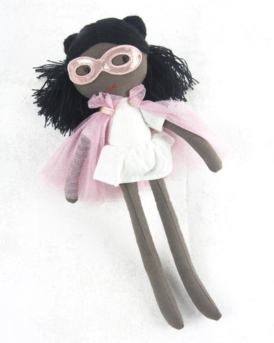 Super Hero Dolls - Mary Pink Hero