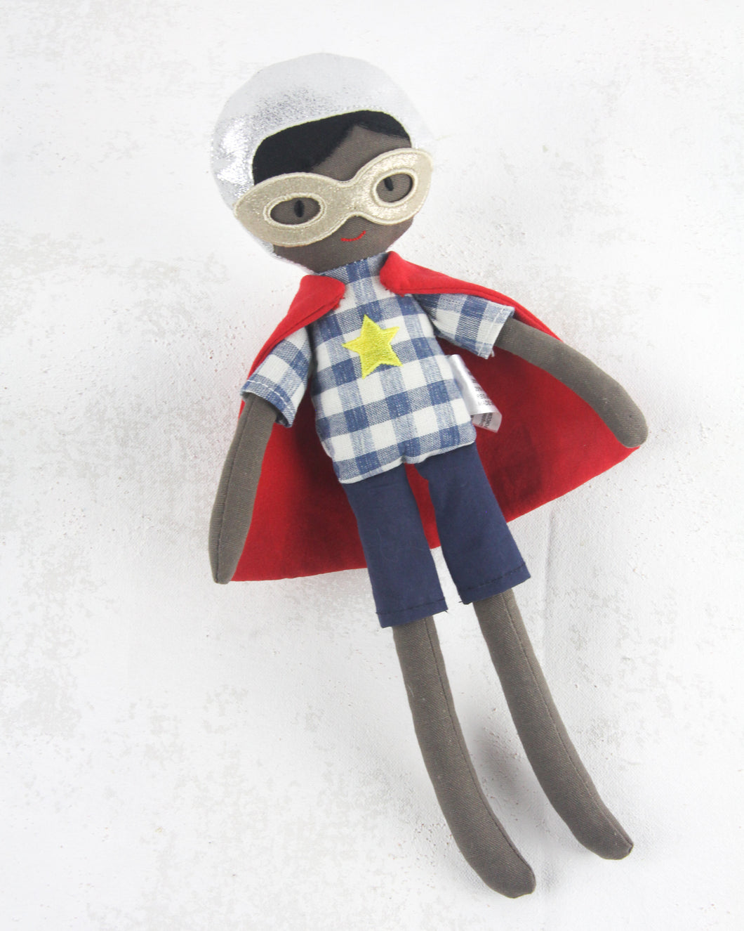 Super Hero Dolls - Jack Plaid Hero