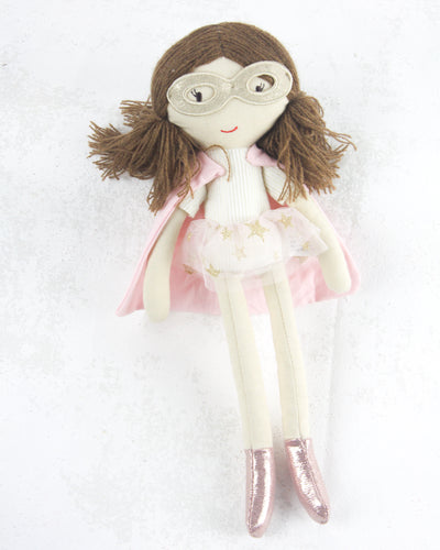 Super Hero Dolls - Sally Pale Pink Hero