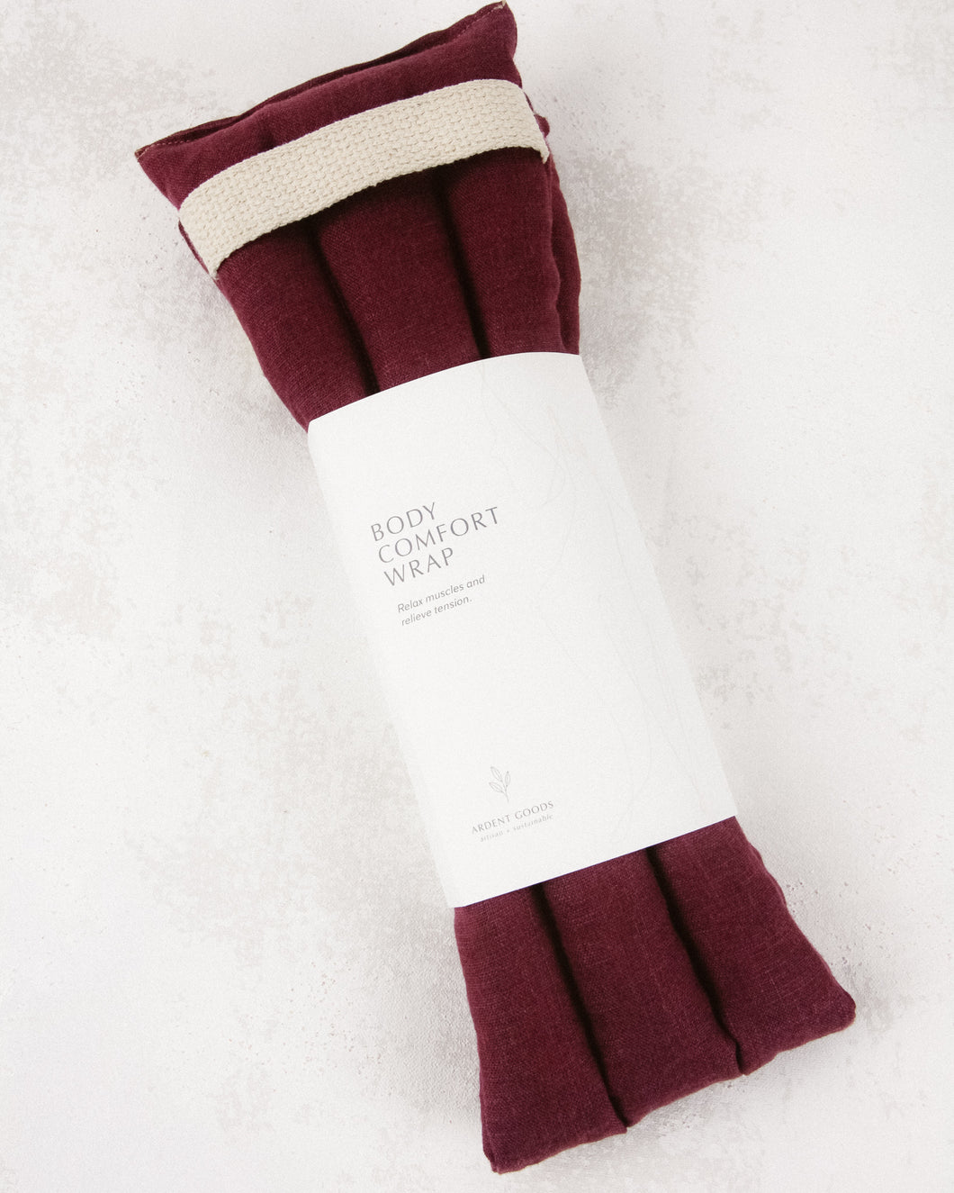 Linen Body Comfort Wrap - Mulberry