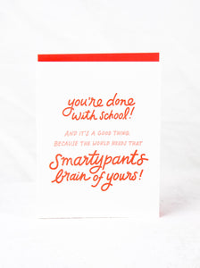 Smartypants Card