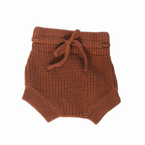 Knit Bloomers in Rust