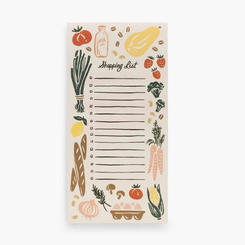 Corner Store Shopping List Notepad
