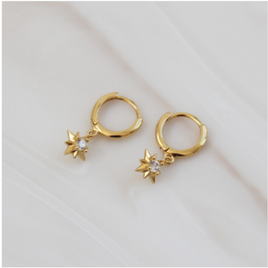 Harriet Gold Hoops