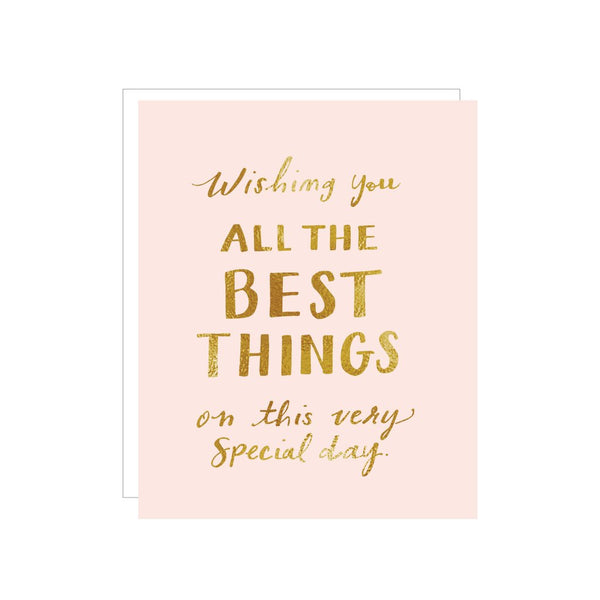 All the Best Things Card