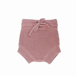 Knit Bloomers in Blush