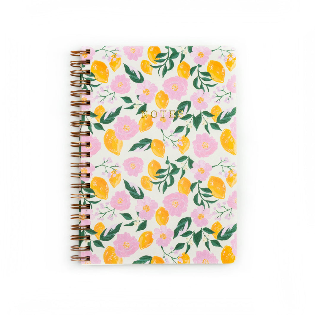 Lemon Handmade Notebook