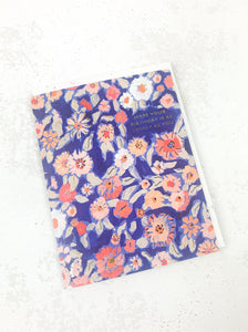 Wildflower Floral Card