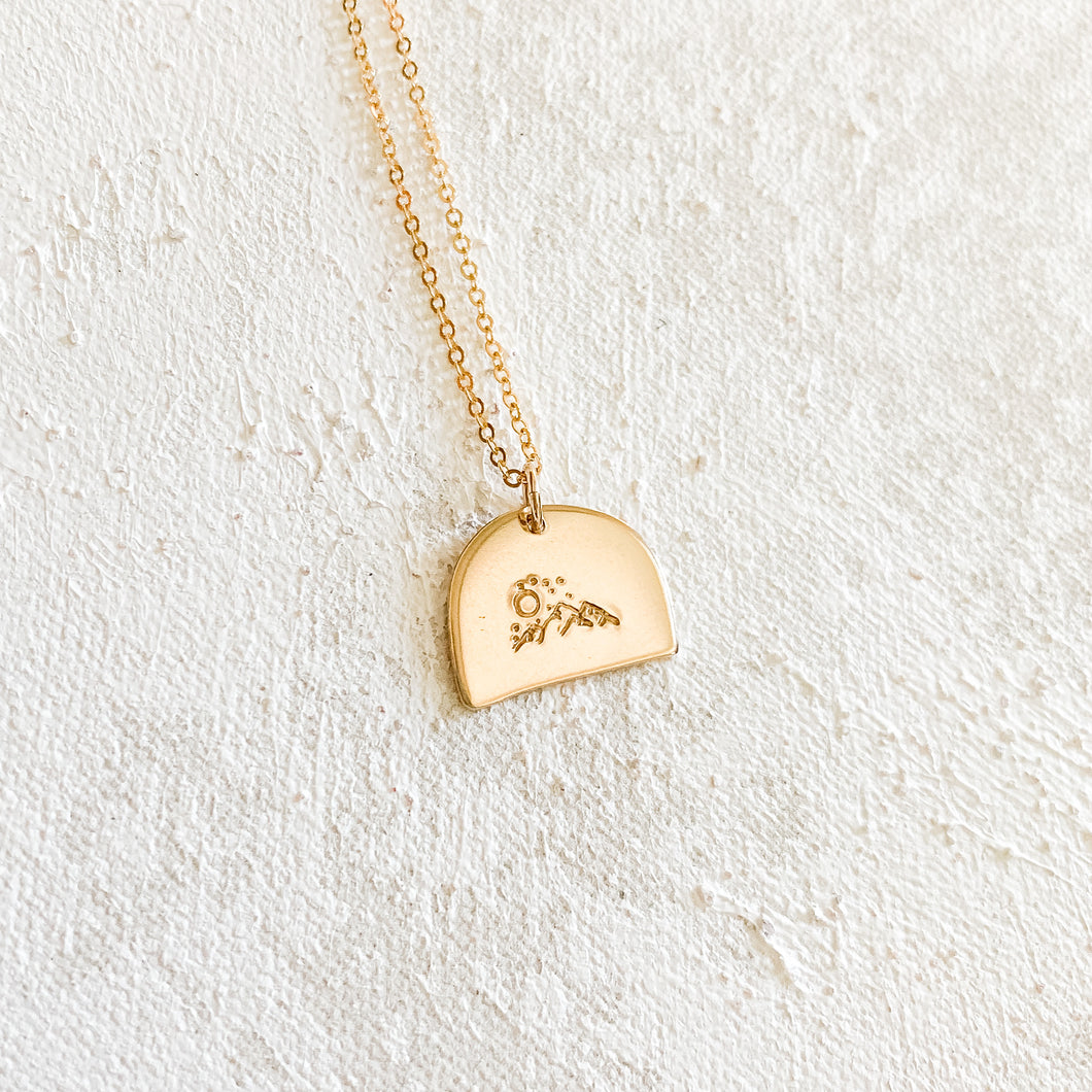 The Mountains Necklace