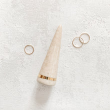 Tan Ring Holder / Ring Cone