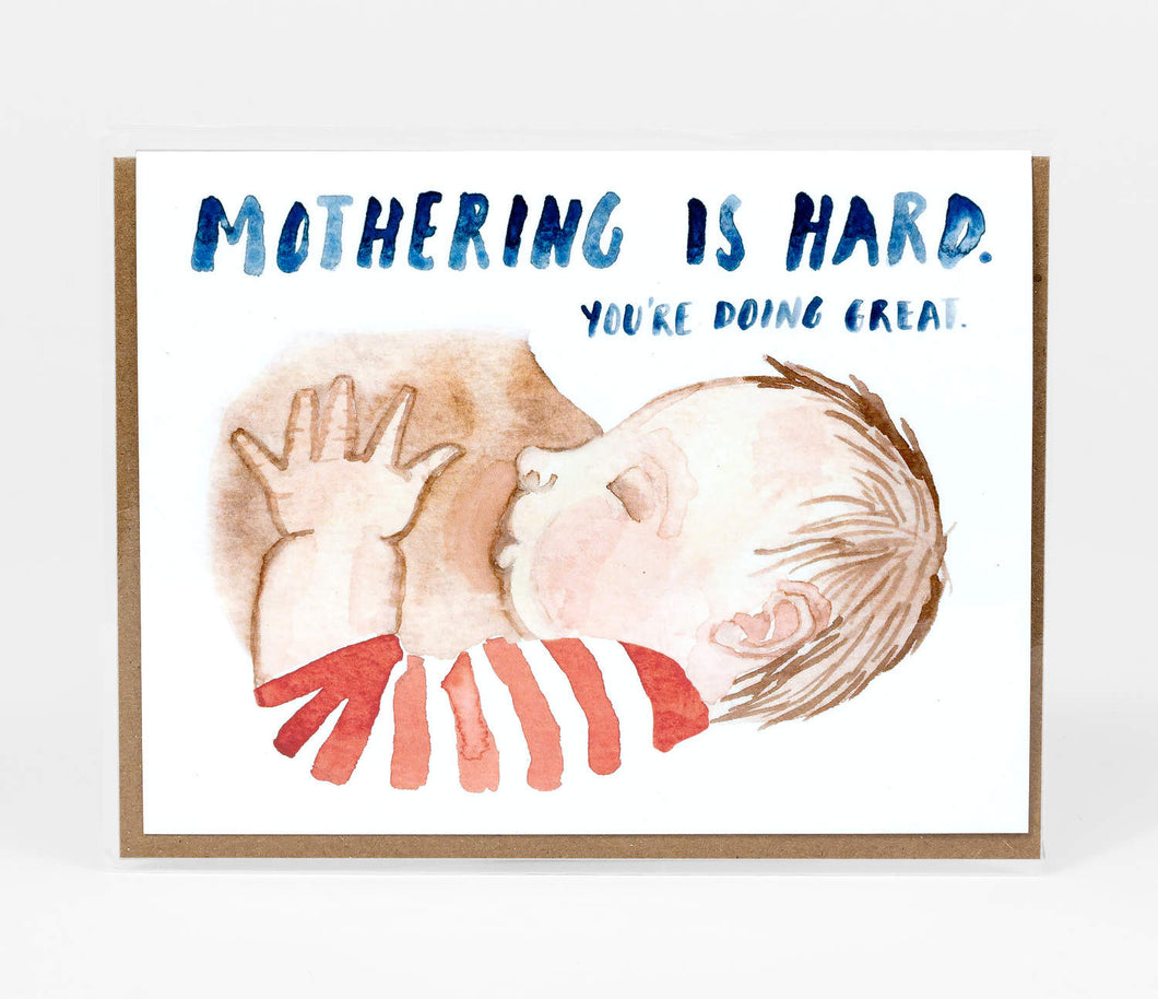 Mothering is Hard Card