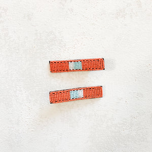 Beaded Hair Clip (Set of 2)
