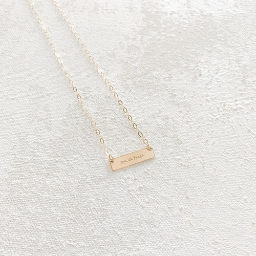 Mini Mama Necklace