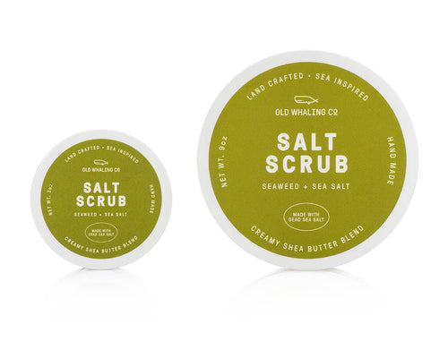 Seaweed and Sea Salt Travel-Size 2oz Salt Scrub