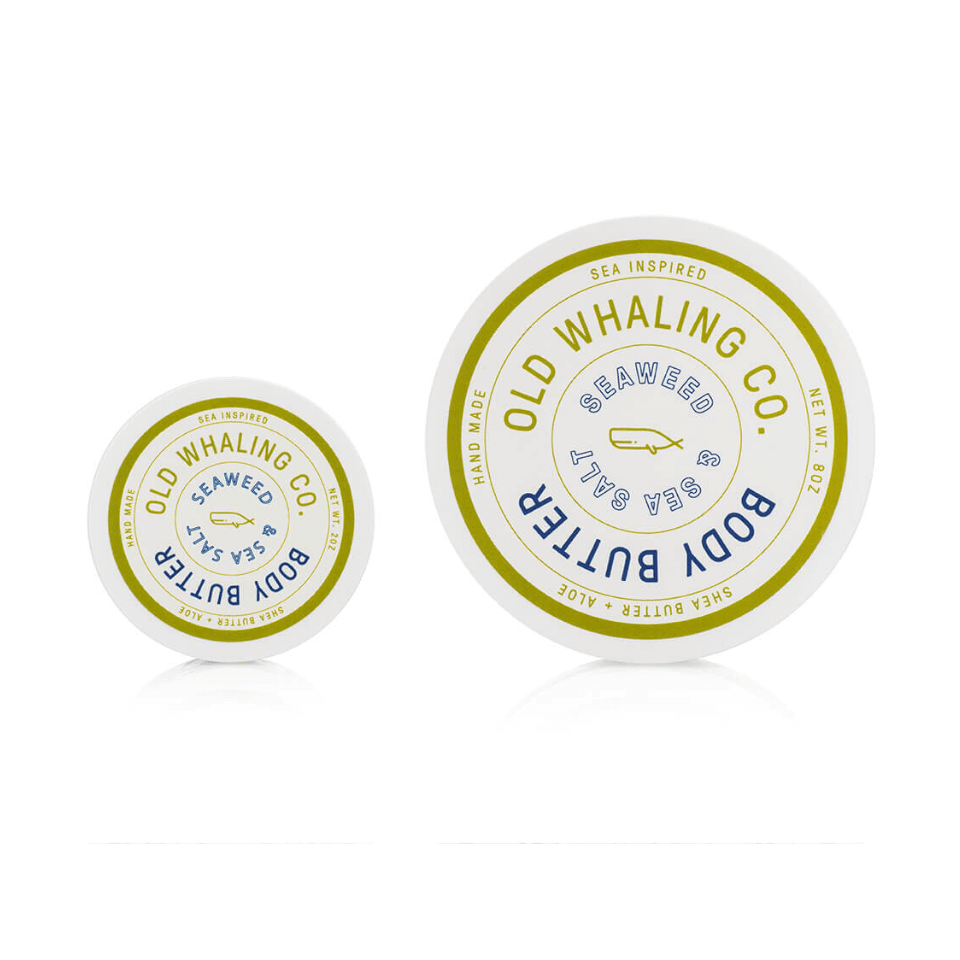 Seaweed + Sea Salt Travel Size Body Butter 2 oz.