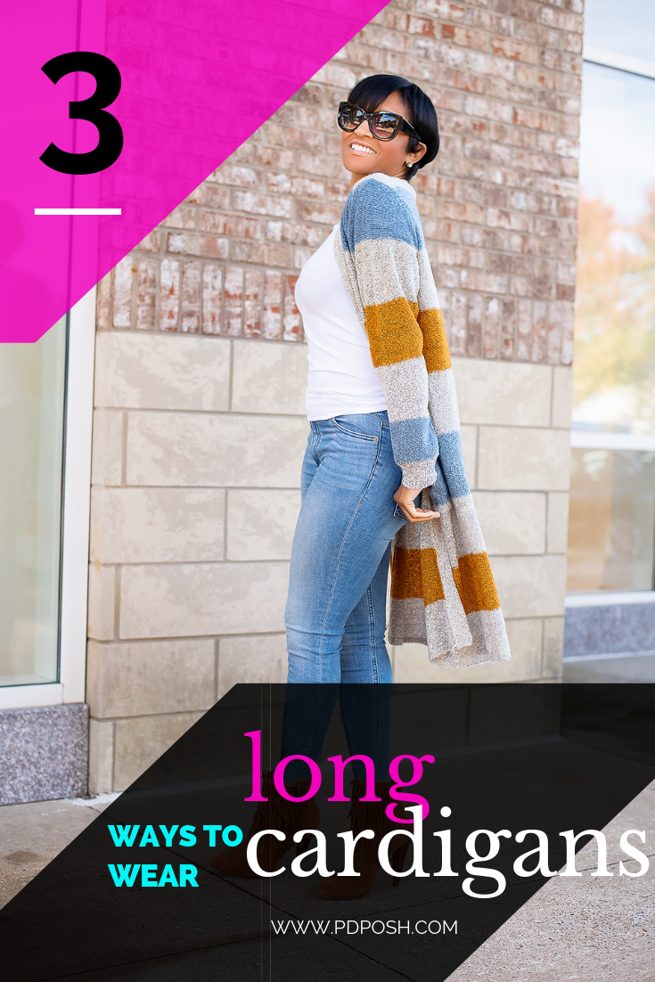 Three Ways to Style Long Cardigan Sweaters for Women