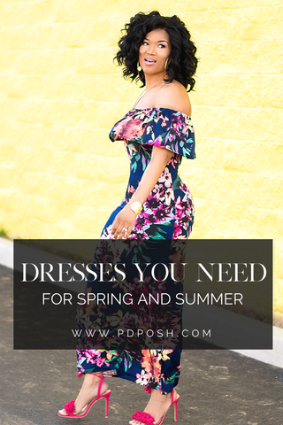 Three Dresses Your Closet Needs for Spring and Summer