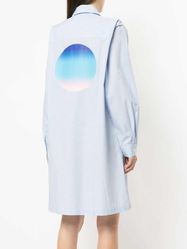 HOT ART GIRLFRIEND SHIRT DRESS