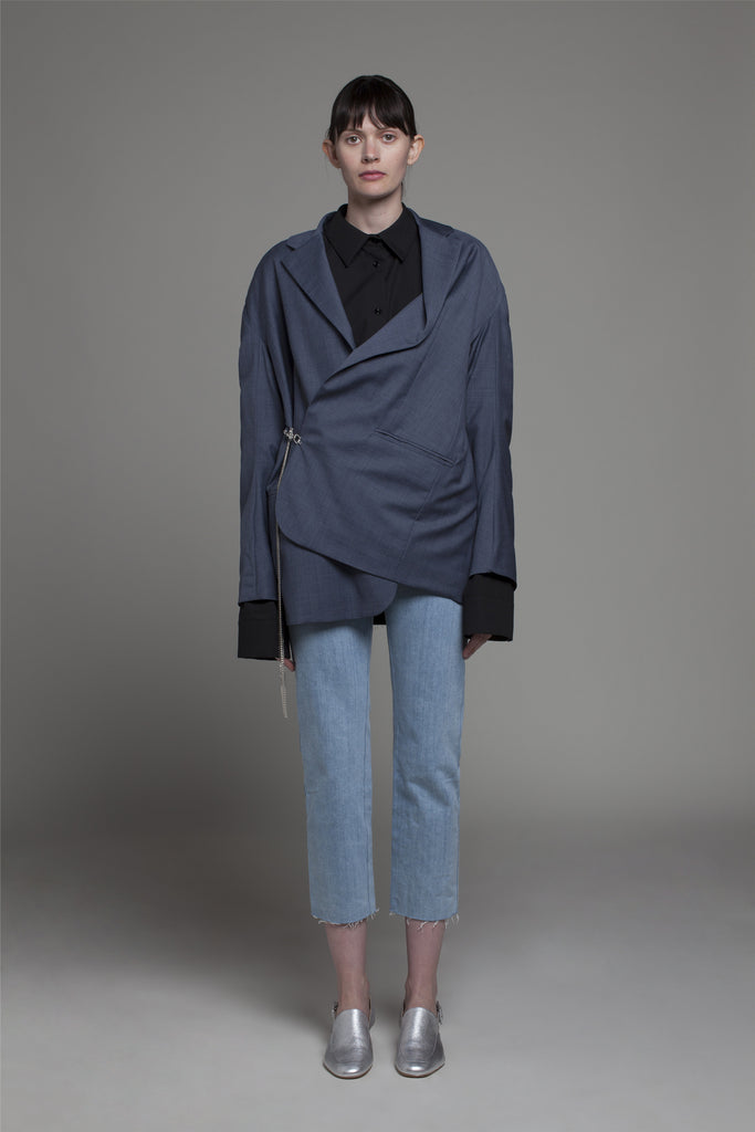 Draped over Jacket