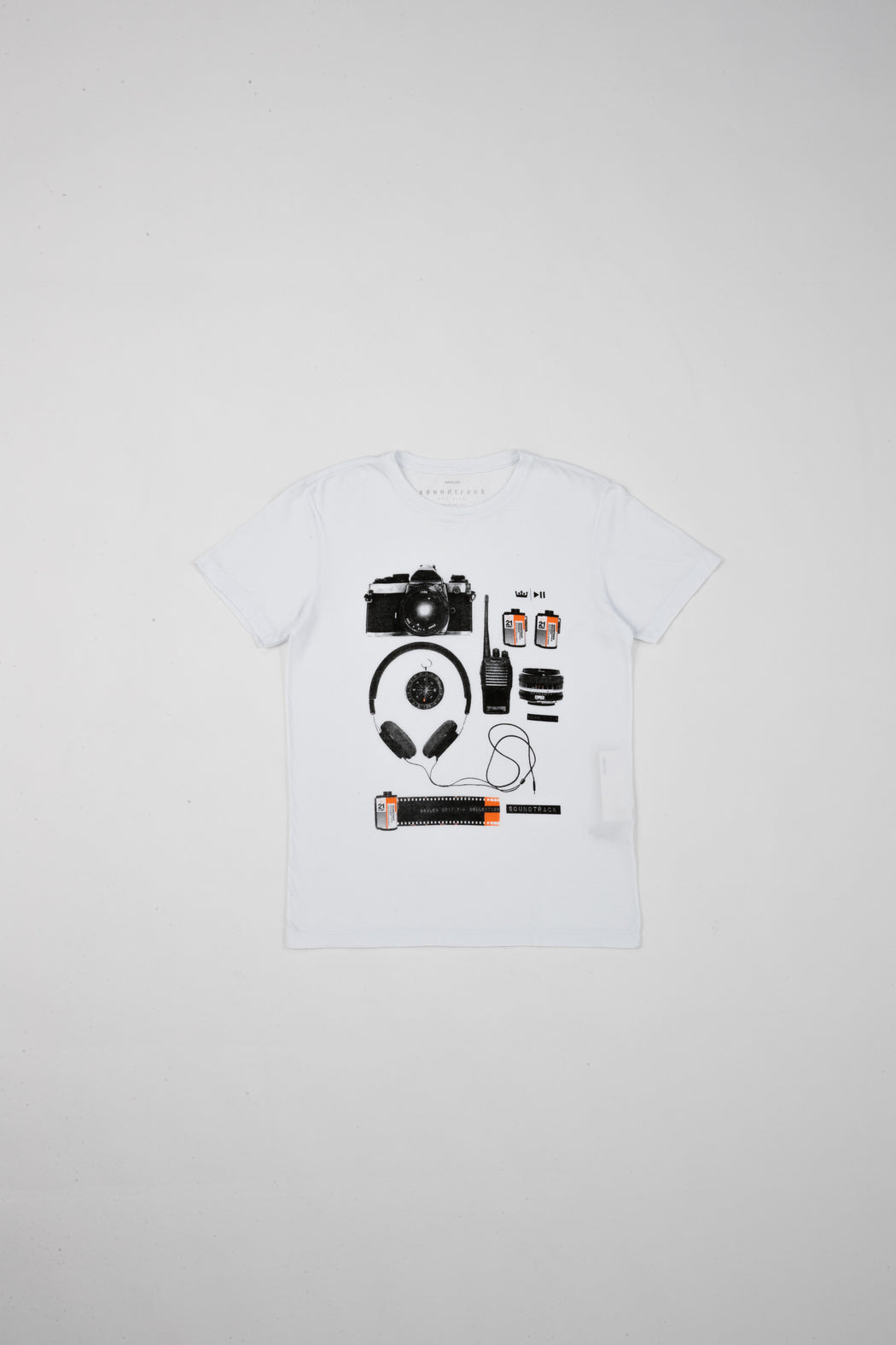 STONE VINTAGE SOUNDTRACK GEARS T-SHIRT