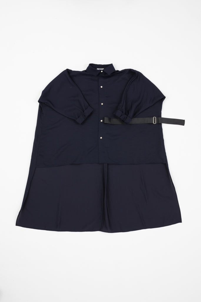 Navy Flow Shirt