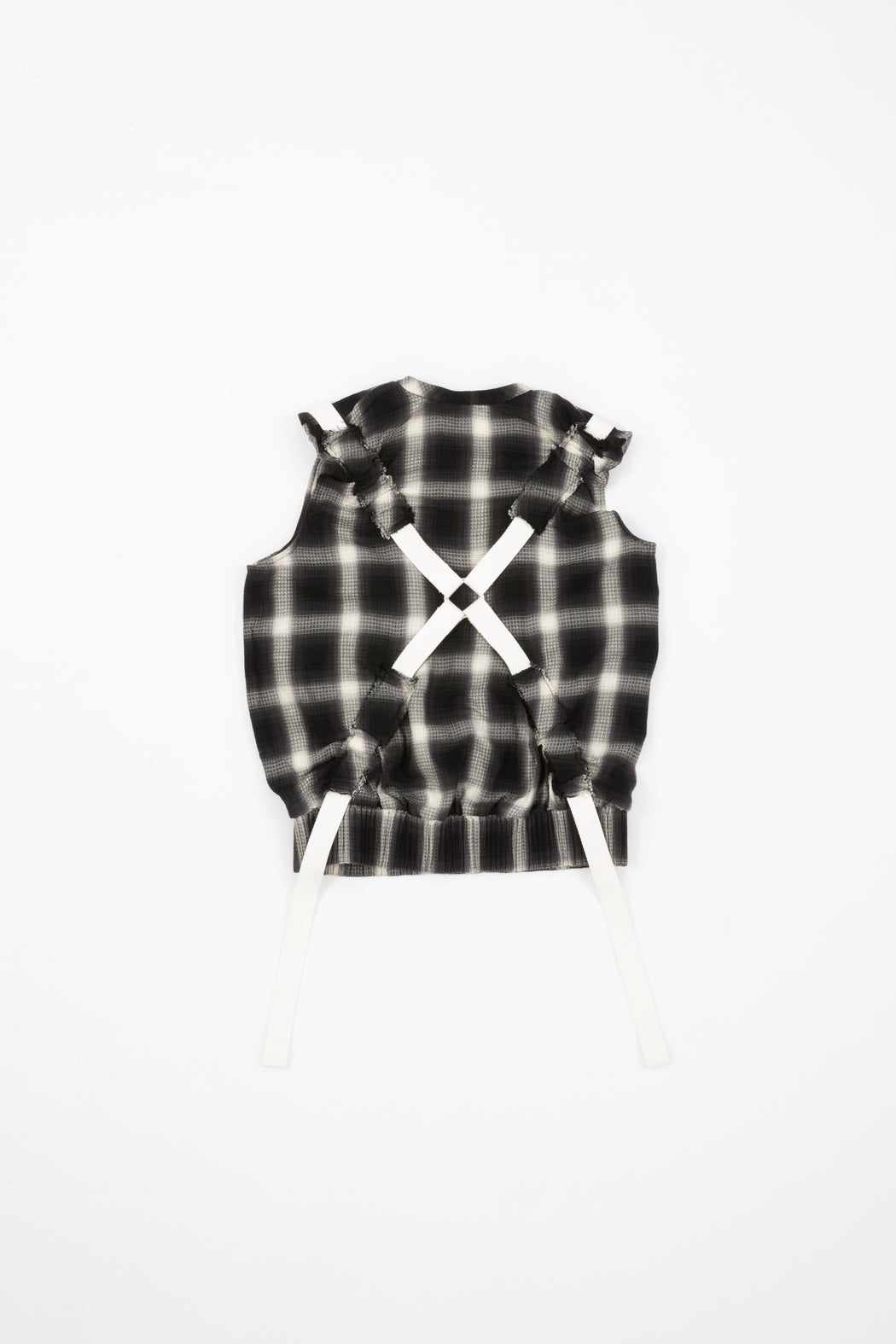 Plaid Tank W/ Harness