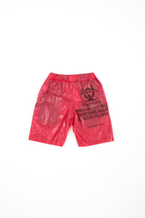 Red Plastic Shorts