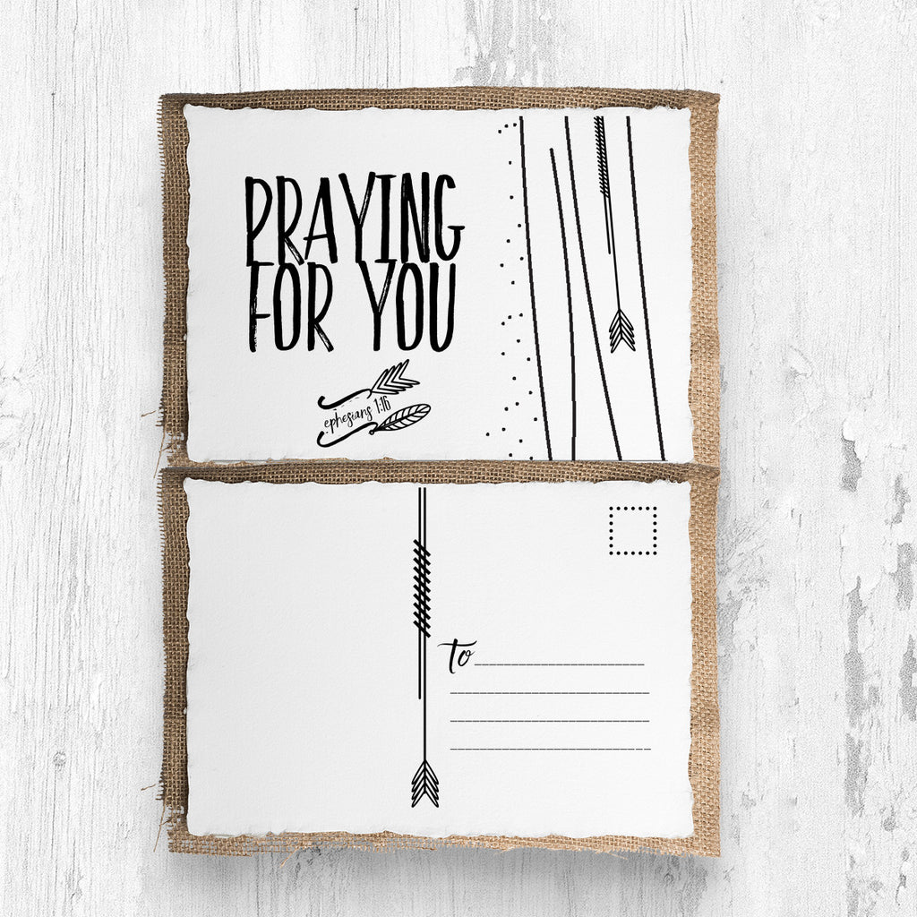 """Praying for You"" Postcards Set of 10"