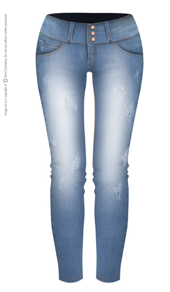LT.ROSE 2009 Colombian Butt Lifting Jeans | Jeans Levanta Cola