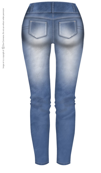 Laty Rose 2013 Butt Lifter Ripped Jeans Levanta Glúteos con Piedras Decorativas