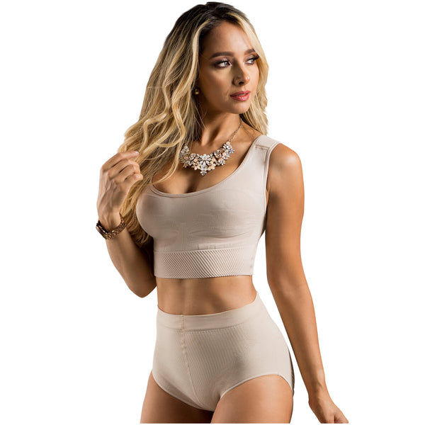 LT.ROSE 21896 High Waist Shapewear Panty | Fajas Panty Levanta Cola
