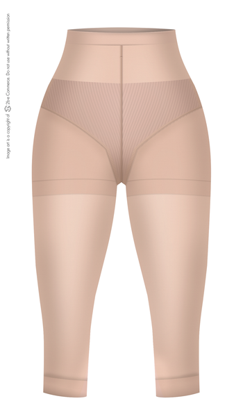 LT.ROSE 21993 Butt Lifting Capri Leggings | Leggings Estilo Capri