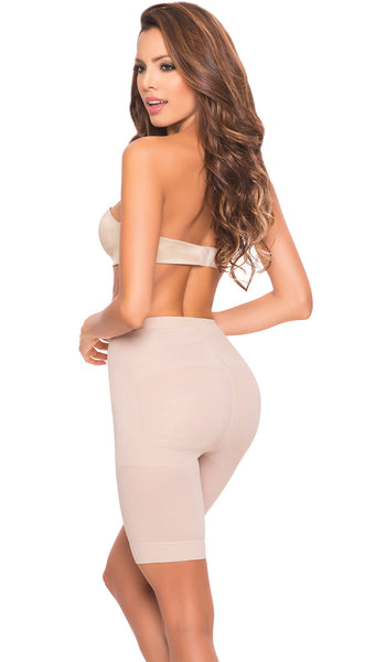 LT.ROSE 21995 Colombian Butt Lifting Shapewear Shorts | Faja Shorts
