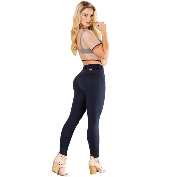 LT.ROSE CS3003 Colombian Butt Lifting Skinny Jeans | Jeans Colombianos