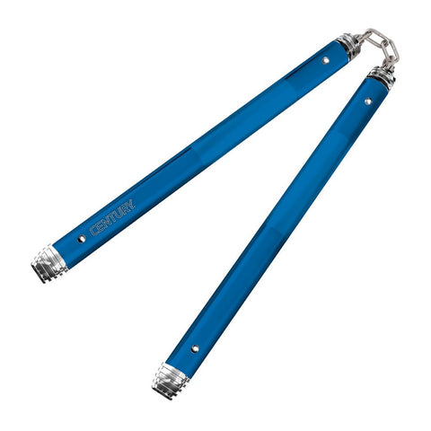 Century Martial Arts AL6000 Competition Nunchaku Blue 12""