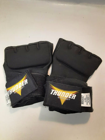 ProForce Handwraps Thunder Neoprene Gel Wraps Handwrap Black Size L/XL