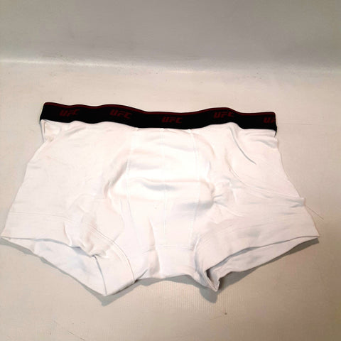 UFC Official MMA Underwear Trunks White 2-Pack