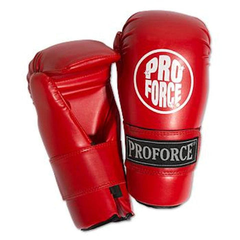 ProForce Point and Semi-Contact Fighting Gloves Red Small