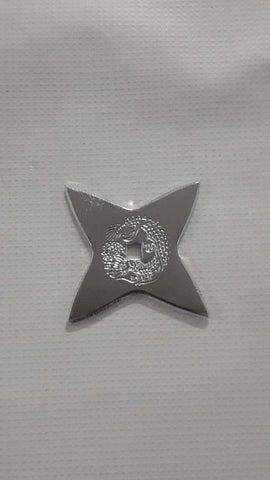 Classic Ninja Stars Dragon Star Chrome