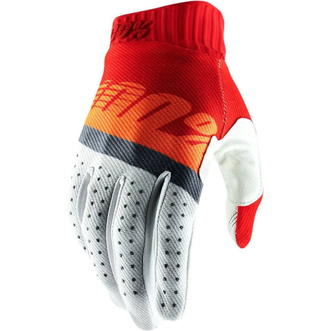 100% Ridefit Men's Off-Road Gloves-955058