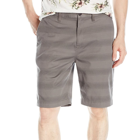 Billabong Carter Stretch Stripe Men's Walkshort Shorts - Pewter