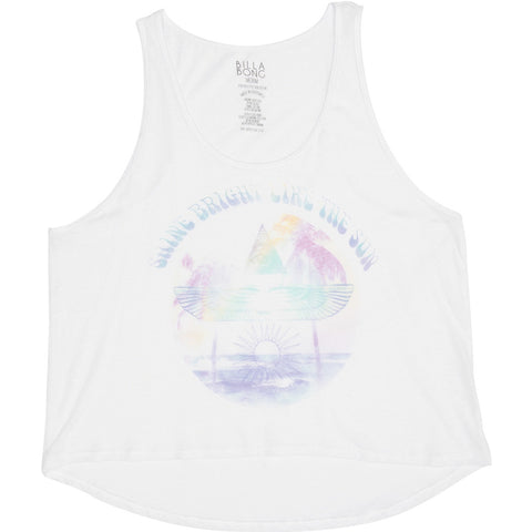 Billabong Like The Sun Women's Tank Shirts - White