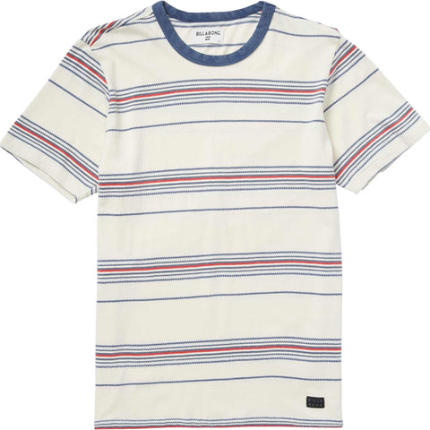 Billabong Banter Crew Youth Boys Short-Sleeve Shirts - Rock