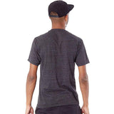 Etnies Stamp Triblend Men's Short-Sleeve Shirts - Black/Heather